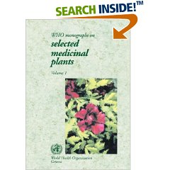 WHO - Monographs on selected medicinal plants